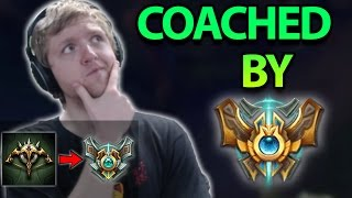 Video COACHED BY CHALLENGER WHILE I PLAY?! THIS GAME WAS INSANE! ADC To Masters Ep. 10 - League of Legends MP3, 3GP, MP4, WEBM, AVI, FLV Juni 2018