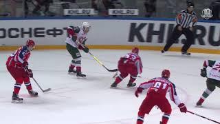 Галиев забрасывает 10-ю шайбу в плей-офф