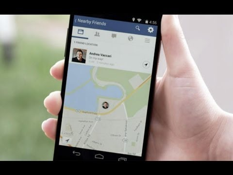 """Facebook Tracks Your GPS Location 24/7 with """"Friends Nearby"""" Feature"""
