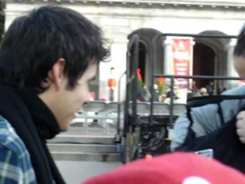 The First Time I met David Archuleta. UP CLOSE VIDEO of David meeting fans!
