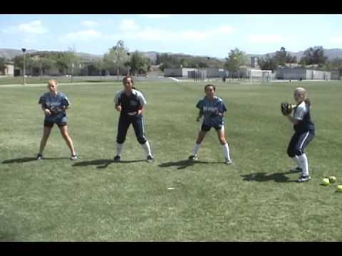 Infield Drill Quick hands Drill: Softball