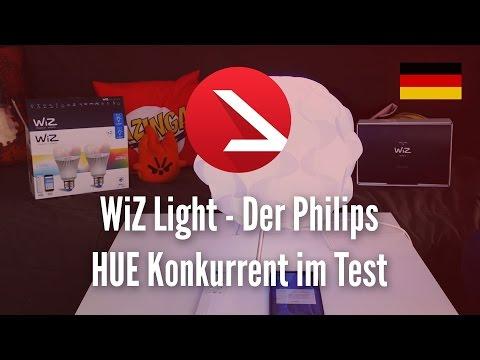 WiZ Light - 💡 -  Der Philips HUE Konkurrent im Test