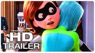 INCREDIBLES 2 Elastigirl Meets Voyd Movie Clip + Trailer (NEW 2018) Superhero Movie HD