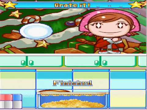 Cooking Mama 3: Shop And Chop - Fried Shrimp (English)