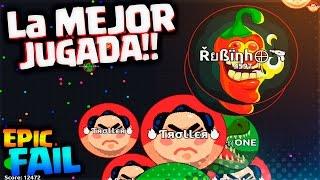 Video La MEJOR JUGADA  + EPIC FAIL!! | Agar.io | Rubinho vlc MP3, 3GP, MP4, WEBM, AVI, FLV Mei 2019