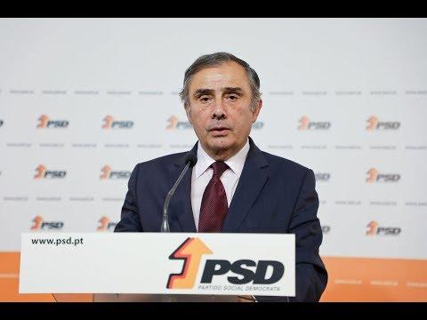 """José Silvano: """"Irei fazer tudo o que sei para afirmar o PSD na sociedade civil"""""""