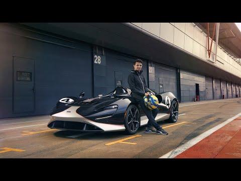 Put to the test - Lando Norris drives the McLaren Elva