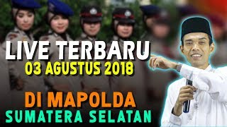 Video PAK POLISI SEMANGAT BANGET | Ceramah UAS di MAPOLDA SUMSEL MP3, 3GP, MP4, WEBM, AVI, FLV April 2019