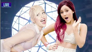 Miley Cyrus Vs. Ariana Grande: Best New Years Performance?! (2014)