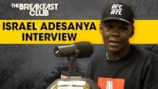 Israel Adesanya Talks UFC Win, Anderson Silva Comments, Robert Whittaker + More