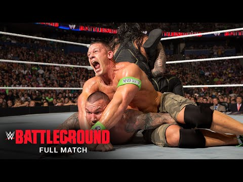 FULL MATCH: Roman Reigns vs. Randy Orton vs. Kane vs. John Cena –Title Match: WWE Battleground 2014