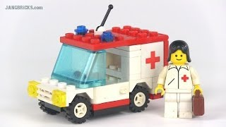 """Video LEGO classic Town 6523 """"Red Cross"""" set from 1987! MP3, 3GP, MP4, WEBM, AVI, FLV Agustus 2018"""
