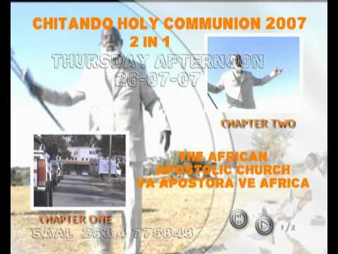paul mwazha - The African Apostolic Church at Chitando in April 2007, Leaders holy convocation. The Teaching, persuades the leaders to pay reverence to the Almighty God an...