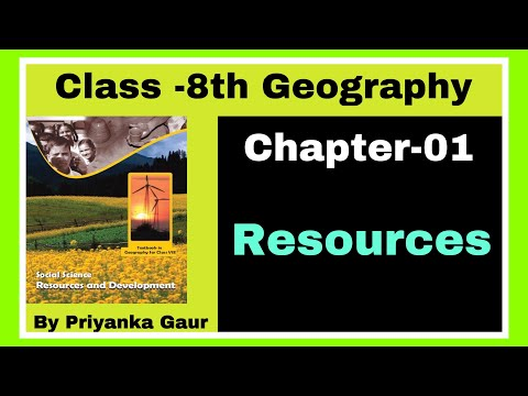 L-01 Geography NCERT Class 8   Resources