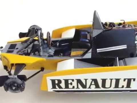 Tamiya Renault Re20 turbo Formula one 1/12 scale