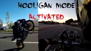 8. My 1st Time Riding A TRIUMPH SPEED TRIPLE 1050 | HOOLIGAN MODE ENGAGED !!!