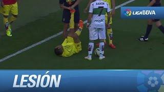 Lesión de Jonathan dos Santos SUSCRIBETE AL MEJOR CANAL HD La Liga  Lesión de Jonathan dos Santos en el Villarreal...