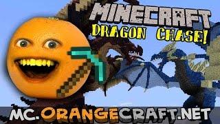 Annoying Orange Gaming - Minecraft Monday: Dragon Chase!