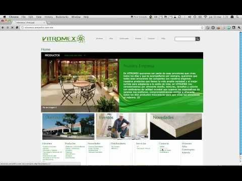 Sitio Web para Empresa Líder en el medio de la Cerámica