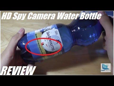 REVIEW: PUAroom Hidden Spy HD Water Bottle Camera!