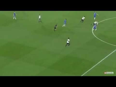 Victor Moses goal Chelsea 2-1 Tottenham Hotspur