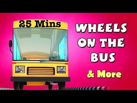 Wheels On The Bus | Baa Baa Black Sheep & more Nursery Rhymes Collection for Children | KidsOne