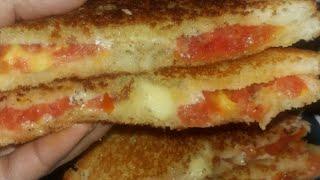 Tomato Sandwich Recipe / Kids Lunch Box Recipe