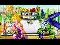 BEST GOHAN VS CELL FIGHT EVER!!! DRAGON BALL SUPER CARD GAME