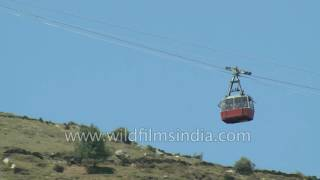 Joshimath India  city photos : Cable car at Auli from Joshimath in Uttarakhand
