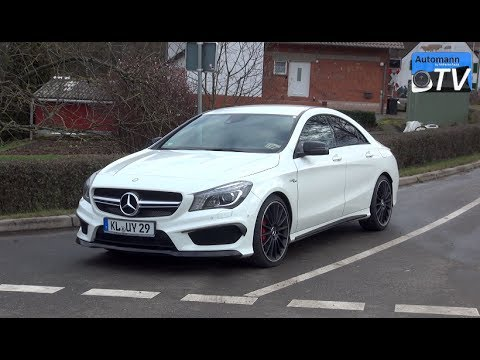 2014 Mercedes CLA 45 AMG (360hp) – DRIVE & SOUND (1080p)