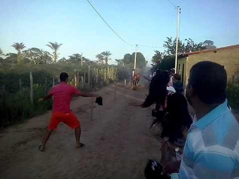 Final da corrida de cavalos em Lagoa do Mamão 09/02/15