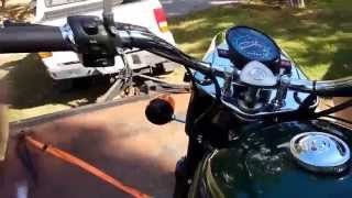 10. For Sale 2006 URAL Motorcycle w/Side Car 750cc