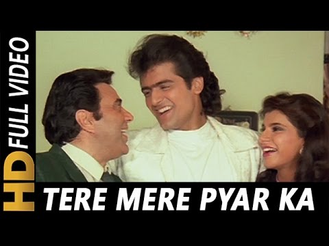 Video Tere Mere Pyar Ka Aisa Nata Hai | Kumar Sanu, Mohammed Aziz, Sarika Kapoor | Virodhi 1992 Songs download in MP3, 3GP, MP4, WEBM, AVI, FLV January 2017