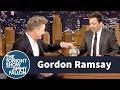 Jimmy Interviews Gordon Ramsay with a Swear Jar waptubes
