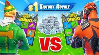 Fortnite Battle *BINGO*  Wager Match (V-Bucks)!