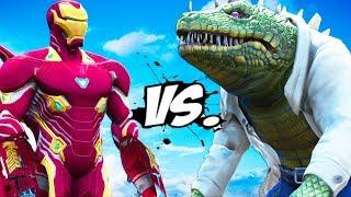 Video IRON MAN VS THE LIZARD - Iron Man Mark 50 vs Lizard MP3, 3GP, MP4, WEBM, AVI, FLV November 2018