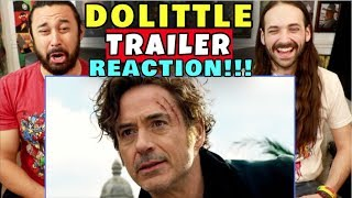 DOLITTLE - Official TRAILER | REACTION!!! by The Reel Rejects