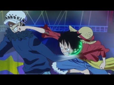 Luffy VS Law (Gomu-Gomu Nomi VS Ope-Ope Nomi)