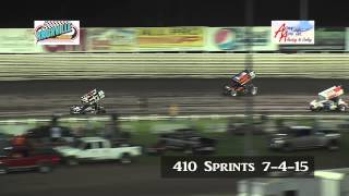 Knoxville 410 sprints 7-4-15