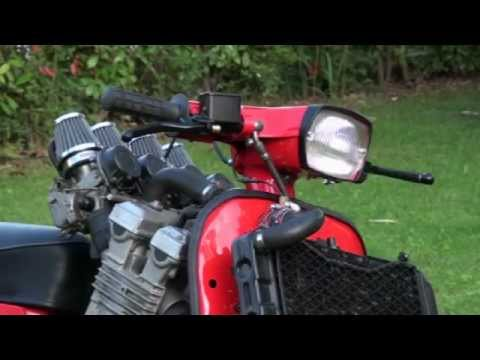 piaggio vespa 600cc with yamaha fzr engine