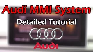 Audi MMI 2018 Detailed Tutorial and Review: Tech Help Video