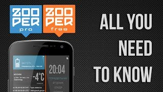 Zooper Widget YouTube video