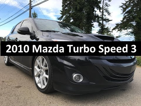2010 Mazda Speed 3 Turbocharged Engine, 6 speed manual, 18