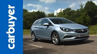 Vauxhall Astra Sports Tourer estate review (Opel Astra) - Carbuyer by Carbuyer