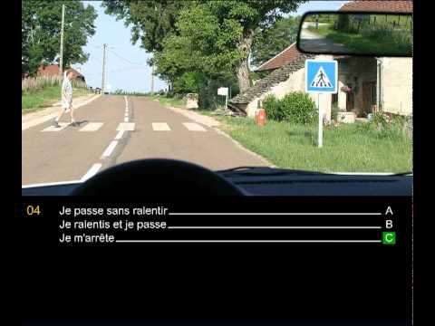 code - Correction des 10 premières questions pièges du code de la route pour tester vos connaissances et vous entraîner comme le jour de l'examen du code de la rout...
