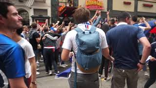 Video French Team Fans in San Francisco going crazy! MP3, 3GP, MP4, WEBM, AVI, FLV September 2018