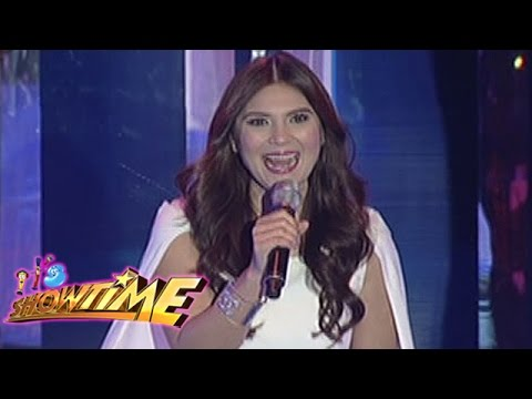 Video It's Showtime Singing Mo 'To: Vina Morales sings