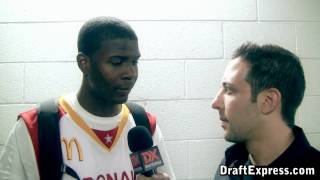 Josh Selby Interview & Practice Highlights - 2010 McDonald's All American Game