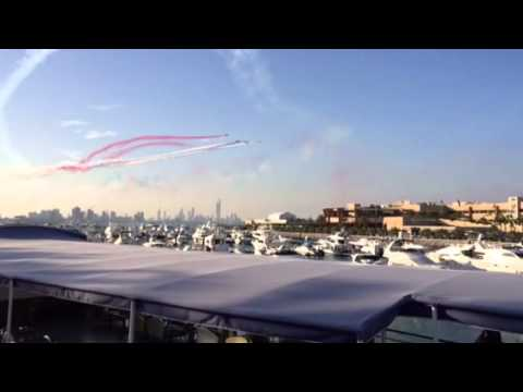 Red Arrows in Kuwait, Marina Mall