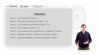 Microeconomía II - Presentación - Alfonso Rosa García